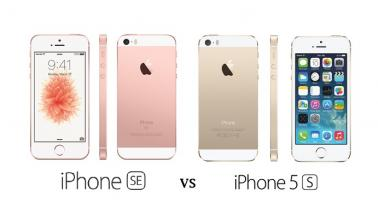 iPhone 5s vs SE