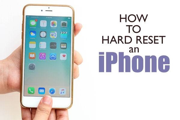 How to Hard Reset iPhone