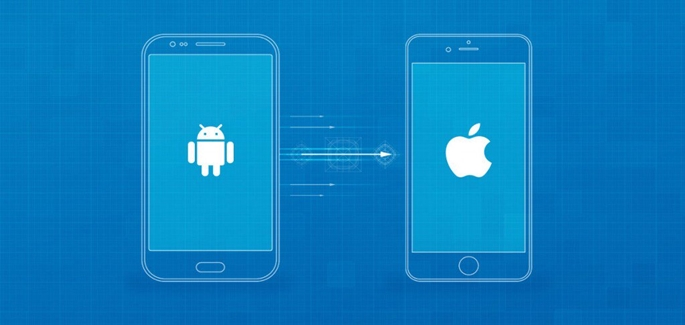 Van Android naar iOS overstappen