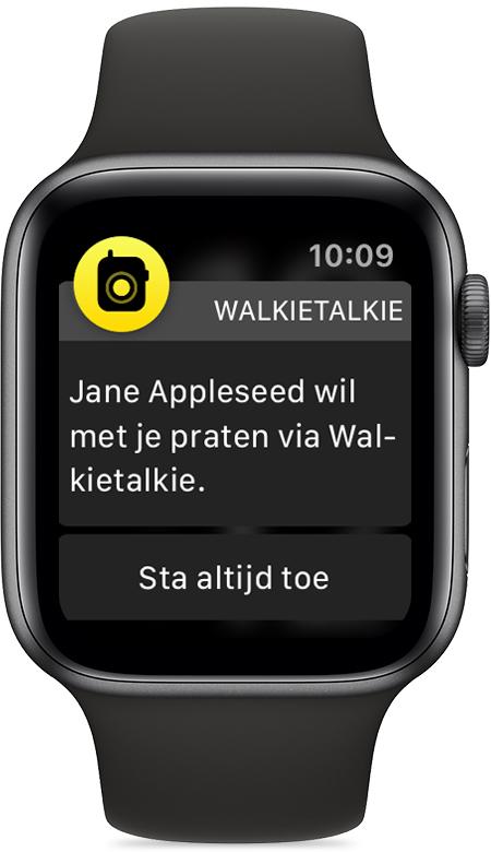 iWatch walkie-talkie friend-wants-to-talk notification